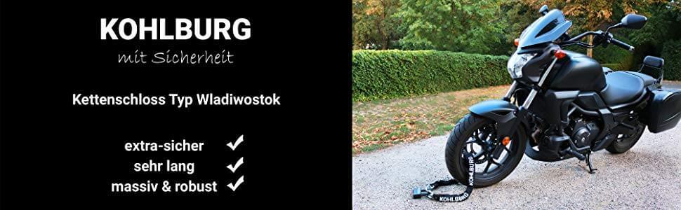 KOHLBURG Kettenschloss Wladiwostok