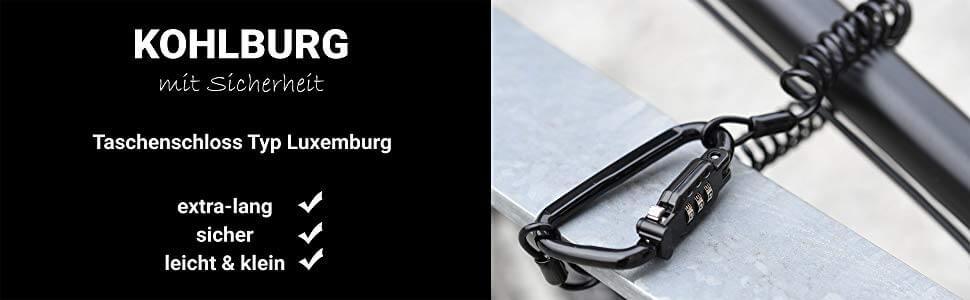 KOHLBURG Kabelschloss Luxemburg